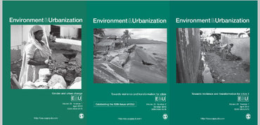 Recent front covers of Environment & Urbanization